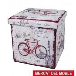 Pouff Bicicleta