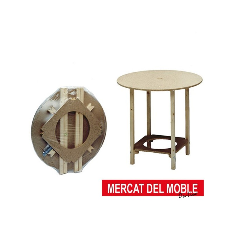Mesa camilla redonda mercat del moble - Mesa camilla redonda ...