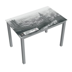 MESA FIJA LONDON BLACK AND WHITE