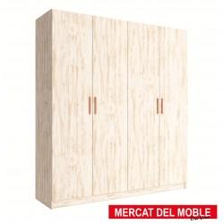 Armario 4 puertas kit